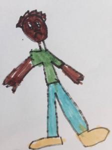 Terapi - Barn tisser i bukserne.